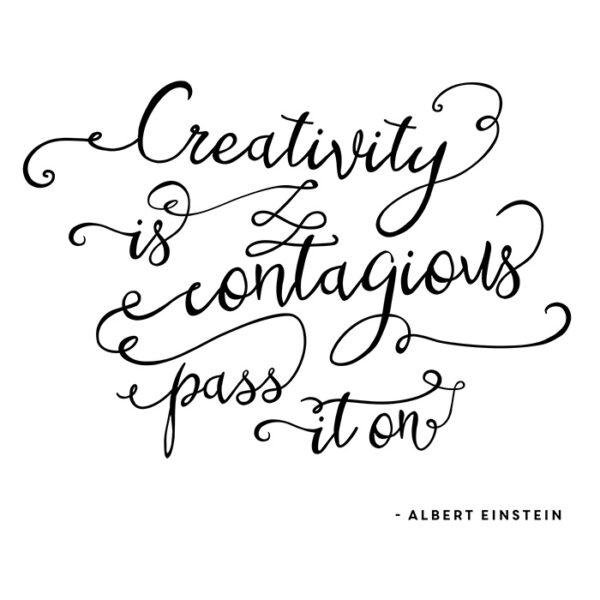 Creativity is Contagious Printable