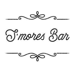S'mores Bar Printable Sign