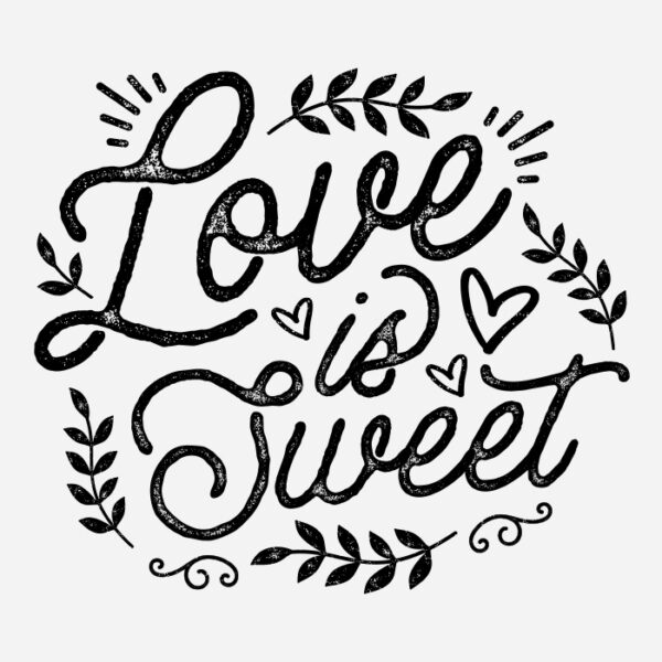 Love is Sweet Printable