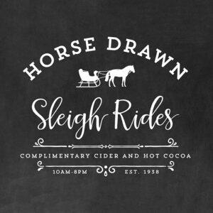 Sleigh Rides Printable
