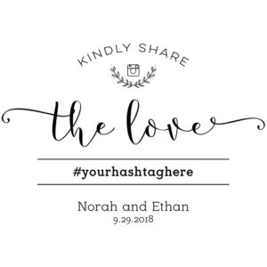 DIY Share the Love Printable