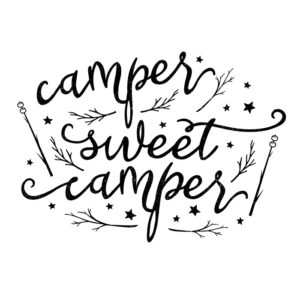 Whimsical Camper Sweet Camper Printable