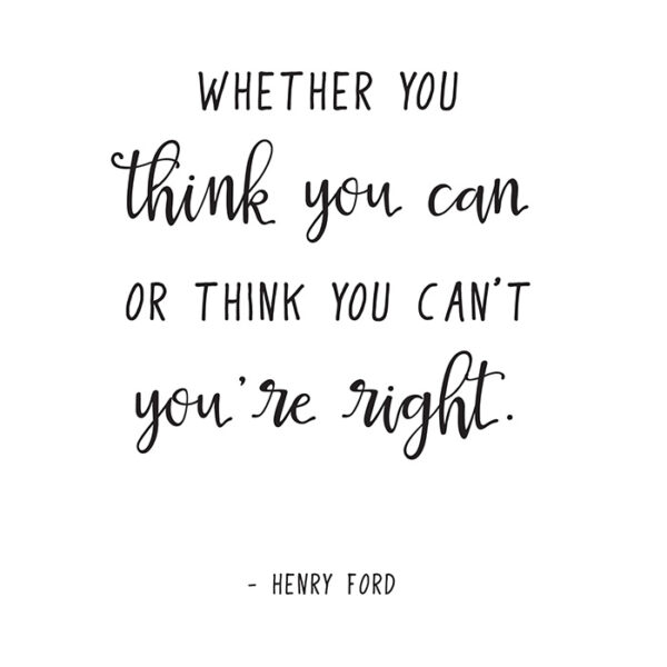 Henry Ford Quote printable
