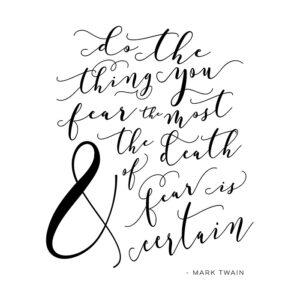 Mark Twain Quote printable
