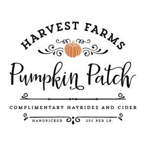 Harvest Farms Pumpkin Patch SVG