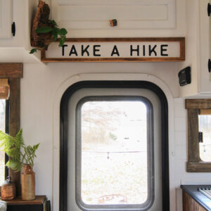 Take a Hike Sign