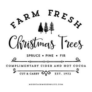 Farm Fresh Christmas Trees Extended License