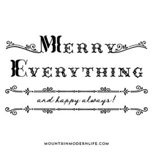 Merry Everything Extended License