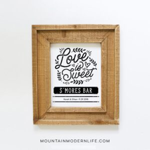 Love is Sweet Printables