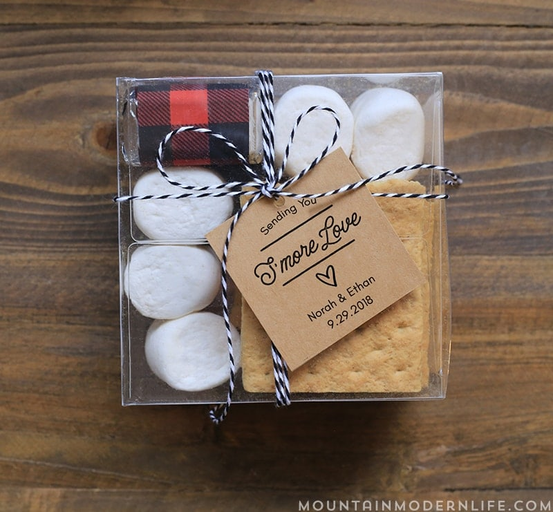 Printable S'more Kit Tags